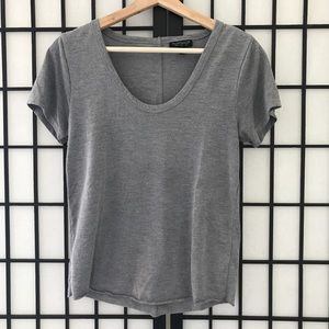 🏷TOPSHOP Gray Short Sleeve Tee
